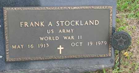 STOCKLAND, FRANK A. (WW II) - Clay County, South Dakota   FRANK A. (WW II) STOCKLAND - South Dakota Gravestone Photos