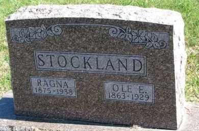 STOCKLAND, OLE E. - Clay County, South Dakota | OLE E. STOCKLAND - South Dakota Gravestone Photos