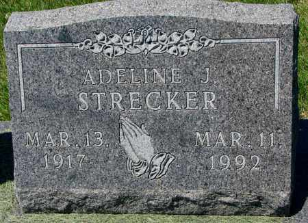 STRECKER, ADELINE J. - Clay County, South Dakota | ADELINE J. STRECKER - South Dakota Gravestone Photos