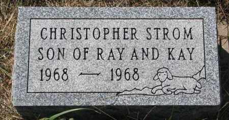 STROM, CHRISTOPHER - Clay County, South Dakota | CHRISTOPHER STROM - South Dakota Gravestone Photos