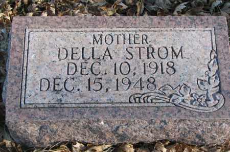 STROM, DELLA - Clay County, South Dakota | DELLA STROM - South Dakota Gravestone Photos