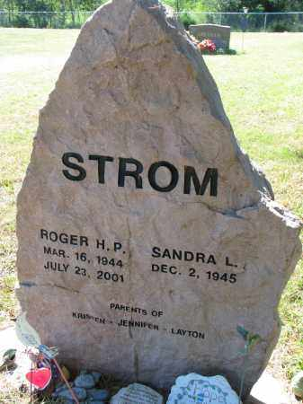 STROM, ROGER H.P. - Clay County, South Dakota | ROGER H.P. STROM - South Dakota Gravestone Photos