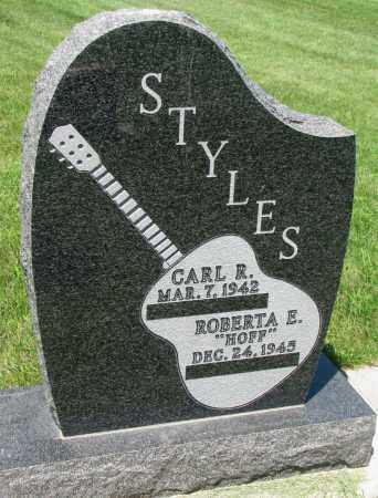 STYLES, CARL E. - Clay County, South Dakota | CARL E. STYLES - South Dakota Gravestone Photos