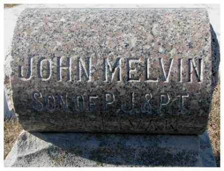 SULLIVAN, JOHN MELVIN - Clay County, South Dakota   JOHN MELVIN SULLIVAN - South Dakota Gravestone Photos