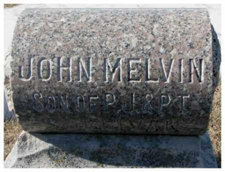 SULLIVAN, JOHN MELVIN - Clay County, South Dakota | JOHN MELVIN SULLIVAN - South Dakota Gravestone Photos