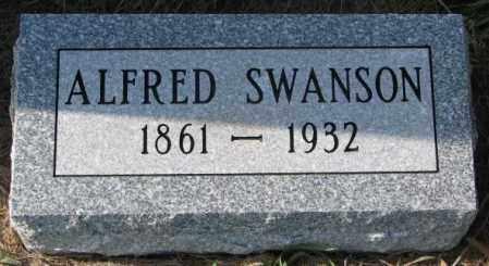 SWANSON, ALFRED - Clay County, South Dakota | ALFRED SWANSON - South Dakota Gravestone Photos