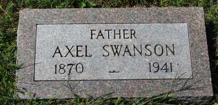 SWANSON, AXEL - Clay County, South Dakota | AXEL SWANSON - South Dakota Gravestone Photos