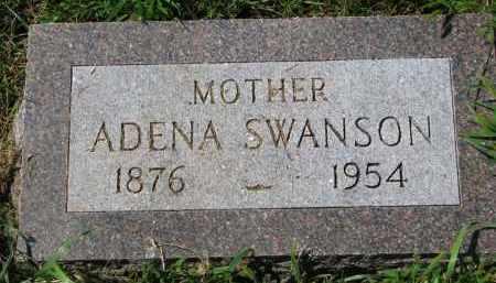 SWANSON, ADENA - Clay County, South Dakota | ADENA SWANSON - South Dakota Gravestone Photos
