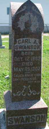 SWANSON, CARL A. - Clay County, South Dakota | CARL A. SWANSON - South Dakota Gravestone Photos