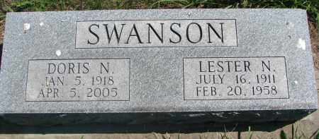 SWANSON, DORIS N. - Clay County, South Dakota | DORIS N. SWANSON - South Dakota Gravestone Photos