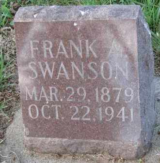 SWANSON, FRANK ARTHUR - Clay County, South Dakota | FRANK ARTHUR SWANSON - South Dakota Gravestone Photos