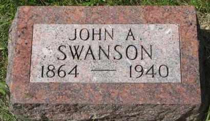 SWANSON, JOHN A. - Clay County, South Dakota | JOHN A. SWANSON - South Dakota Gravestone Photos