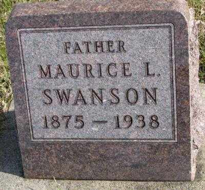 SWANSON, MAURICE L. - Clay County, South Dakota | MAURICE L. SWANSON - South Dakota Gravestone Photos