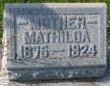 SWANSON, MATHILDA - Clay County, South Dakota | MATHILDA SWANSON - South Dakota Gravestone Photos