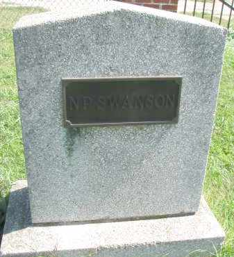 SWANSON, N.P. - Clay County, South Dakota | N.P. SWANSON - South Dakota Gravestone Photos