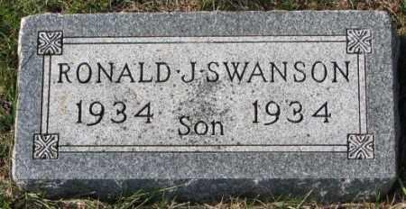 SWANSON, RONALD J. - Clay County, South Dakota | RONALD J. SWANSON - South Dakota Gravestone Photos