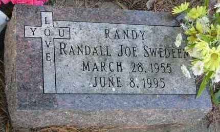 SWEDEEN, RANDALL JOE - Clay County, South Dakota | RANDALL JOE SWEDEEN - South Dakota Gravestone Photos