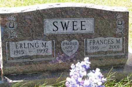 SWEE, FRANCES M. - Clay County, South Dakota | FRANCES M. SWEE - South Dakota Gravestone Photos