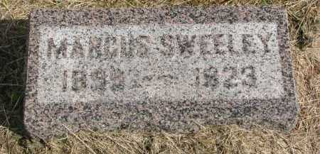 SWEELEY, MARCUS - Clay County, South Dakota | MARCUS SWEELEY - South Dakota Gravestone Photos
