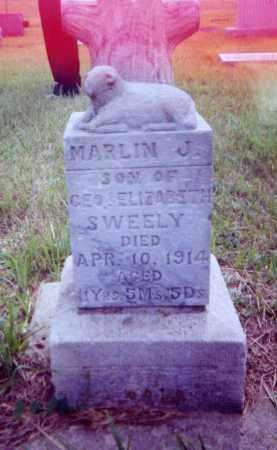 SWEELEY, MARLIN J. - Clay County, South Dakota | MARLIN J. SWEELEY - South Dakota Gravestone Photos