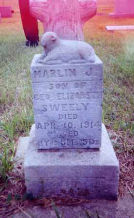 SWEELEY, MARLIN J. - Clay County, South Dakota | MARLIN J. SWEELEY - South Dakota Gravestone Photos