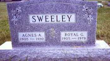SWEELEY, ROYAL G. - Clay County, South Dakota | ROYAL G. SWEELEY - South Dakota Gravestone Photos