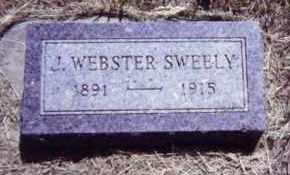 SWEELY, J. WEBSTER - Clay County, South Dakota | J. WEBSTER SWEELY - South Dakota Gravestone Photos