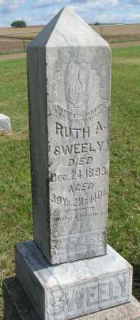 MOONEY SWEELY, RUTH ARBELLA - Clay County, South Dakota | RUTH ARBELLA MOONEY SWEELY - South Dakota Gravestone Photos
