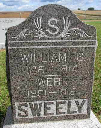 SWEELY, WEBB - Clay County, South Dakota | WEBB SWEELY - South Dakota Gravestone Photos