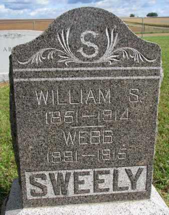 SWEELY, WILLIAM S. - Clay County, South Dakota | WILLIAM S. SWEELY - South Dakota Gravestone Photos