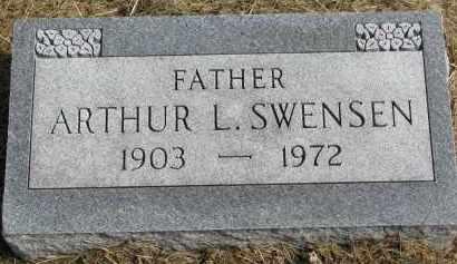 SWENSEN, ARTHUR L. - Clay County, South Dakota | ARTHUR L. SWENSEN - South Dakota Gravestone Photos
