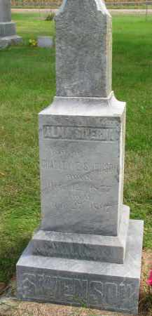 SWENSON, ALMA SIVERNA - Clay County, South Dakota | ALMA SIVERNA SWENSON - South Dakota Gravestone Photos