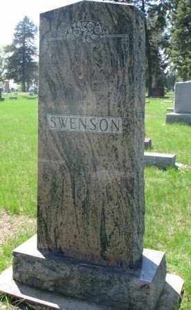 SWENSON, FAMILY STONE - Clay County, South Dakota | FAMILY STONE SWENSON - South Dakota Gravestone Photos