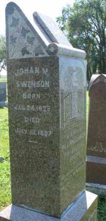 SWENSON, JOHAN M. - Clay County, South Dakota | JOHAN M. SWENSON - South Dakota Gravestone Photos