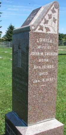 SWENSON, LOVISA - Clay County, South Dakota | LOVISA SWENSON - South Dakota Gravestone Photos