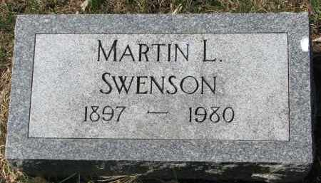 SWENSON, MARTIN L. - Clay County, South Dakota   MARTIN L. SWENSON - South Dakota Gravestone Photos