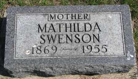 SWENSON, MATHILDA - Clay County, South Dakota | MATHILDA SWENSON - South Dakota Gravestone Photos