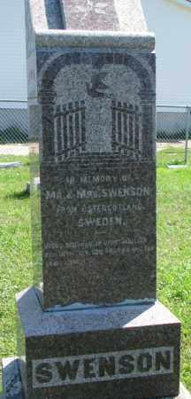 SWENSON, MEMORY OF JOHN & LOVISA - Clay County, South Dakota | MEMORY OF JOHN & LOVISA SWENSON - South Dakota Gravestone Photos