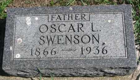 SWENSON, OSCAR L. - Clay County, South Dakota | OSCAR L. SWENSON - South Dakota Gravestone Photos