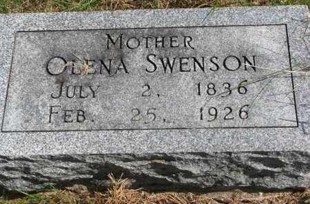 SWENSON, OLENA - Clay County, South Dakota   OLENA SWENSON - South Dakota Gravestone Photos