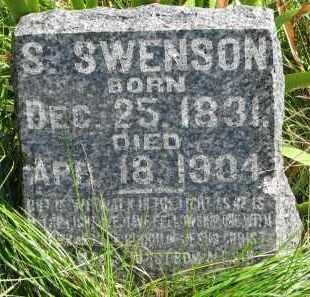 SWENSON, S. - Clay County, South Dakota | S. SWENSON - South Dakota Gravestone Photos