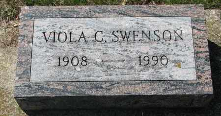 SWENSON, VIOLA C. - Clay County, South Dakota | VIOLA C. SWENSON - South Dakota Gravestone Photos