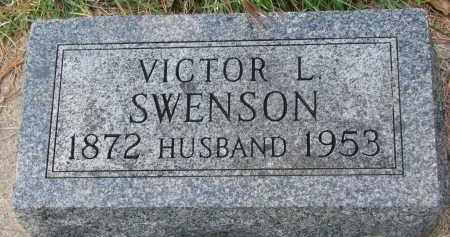 SWENSON, VICTOR L. - Clay County, South Dakota   VICTOR L. SWENSON - South Dakota Gravestone Photos