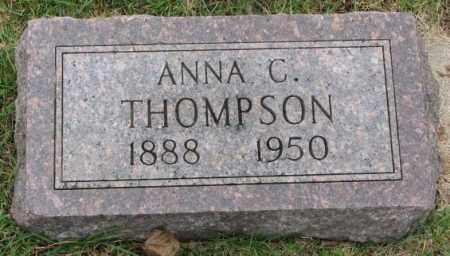 THOMPSON, ANNA C. - Clay County, South Dakota   ANNA C. THOMPSON - South Dakota Gravestone Photos