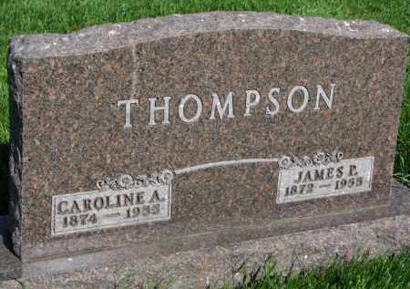 THOMPSON, CAROLINE A. - Clay County, South Dakota | CAROLINE A. THOMPSON - South Dakota Gravestone Photos