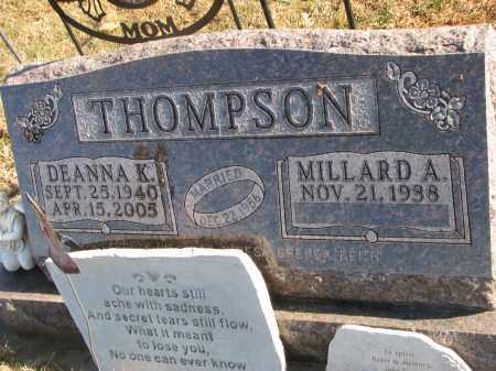 THOMPSON, DEANNA K. - Clay County, South Dakota   DEANNA K. THOMPSON - South Dakota Gravestone Photos