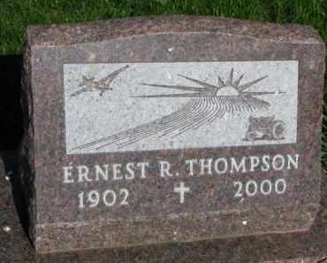 THOMPSON, ERNEST R. - Clay County, South Dakota | ERNEST R. THOMPSON - South Dakota Gravestone Photos