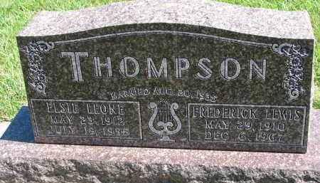 THOMPSON, FREDERICK LEWIS - Clay County, South Dakota | FREDERICK LEWIS THOMPSON - South Dakota Gravestone Photos