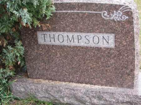 THOMPSON, FAMILY STONE - Clay County, South Dakota | FAMILY STONE THOMPSON - South Dakota Gravestone Photos