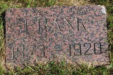 THOMPSON, FRANK - Clay County, South Dakota | FRANK THOMPSON - South Dakota Gravestone Photos